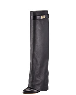 Givenchy Pant-Leg Wedge Boot