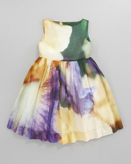 Oscar de la Renta Iris Party Dress