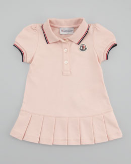 Moncler Pique Pleated Dress & Bloomers