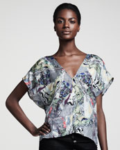 Kelly Wearstler Alchemy Kaleidoscope-Print Tee
