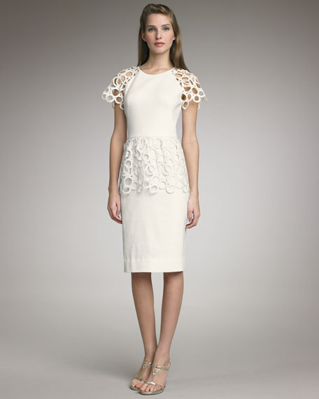 Lace-Detailed Dress