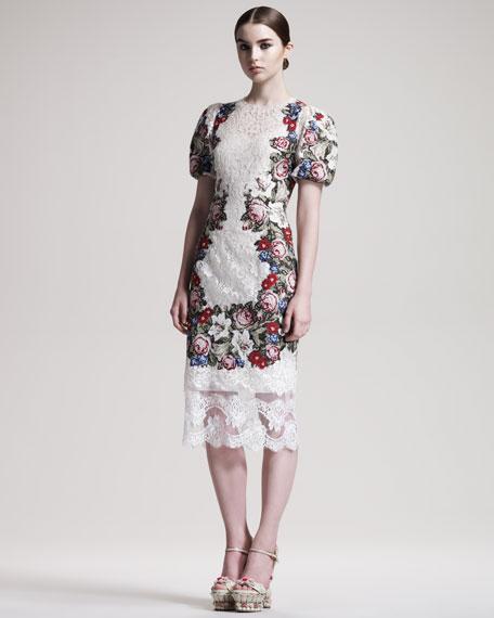 Needlepoint Lace Dress