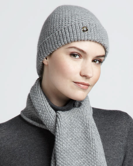 Berretto Rougemont Knit Cashmere Hat