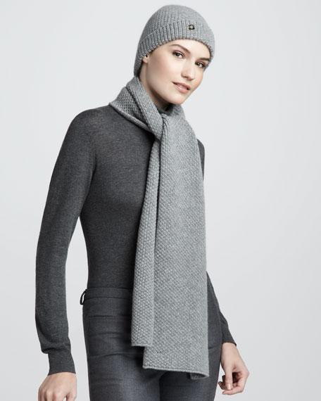 Sciarpa Rougemont Knit Cashmere Scarf