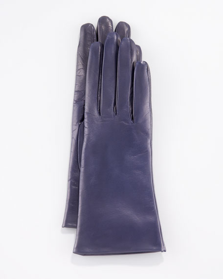 Two-Button Classic Gloves, Mysterioso Navy