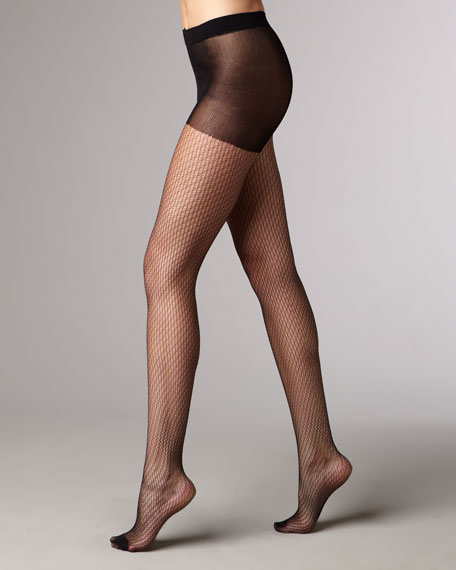 Gauze Net Tights