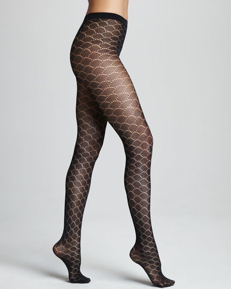 Ariella Scallop Tights