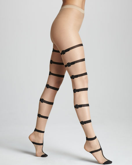 085ba76cd2 Wolford Mirella Buckle Tights