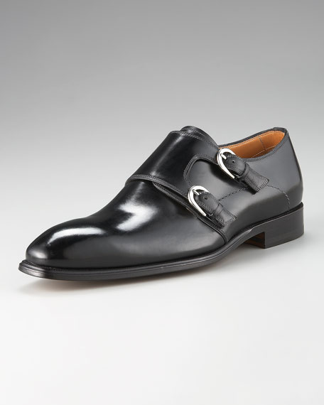 Double Monk-Strap Loafer