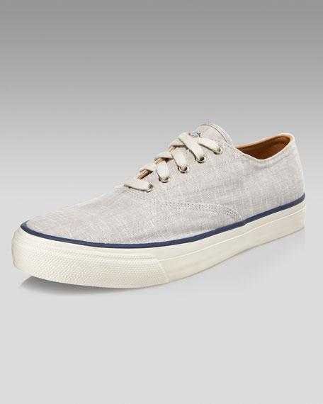 Linen Sneaker, Creme