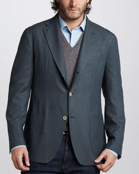 Cashmere-Silk Sport Coat