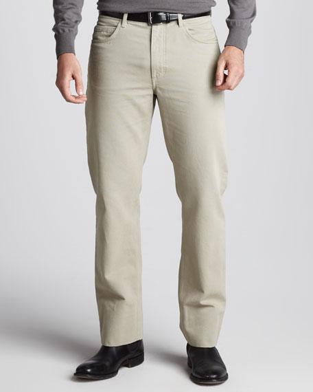 Basic-Fit Pants, Dark Mastic