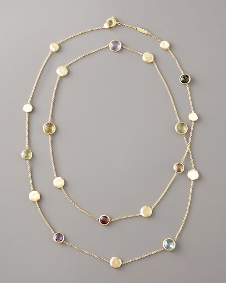 Jaipur Multi-Stone By-the-Yard Necklace