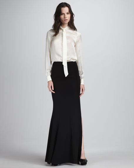 Alia Flared Maxi Skirt