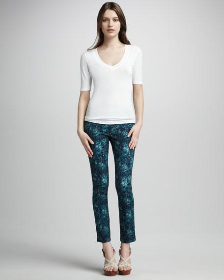 Skyline Umbria Printed Jeans