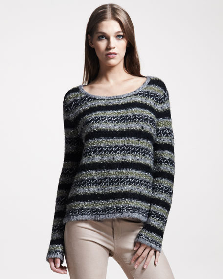 Palermo Striped Sweater