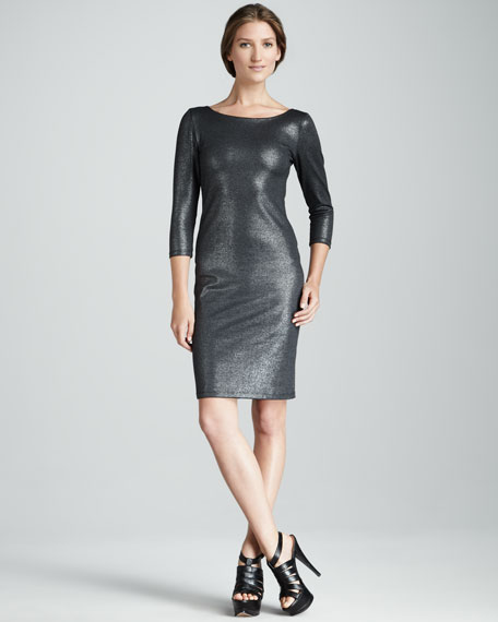 Charnele Mesh-Back Dress