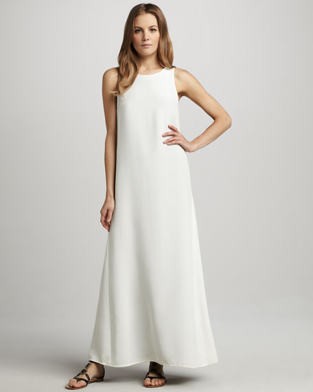 Tabia Slit-Back Maxi Dress
