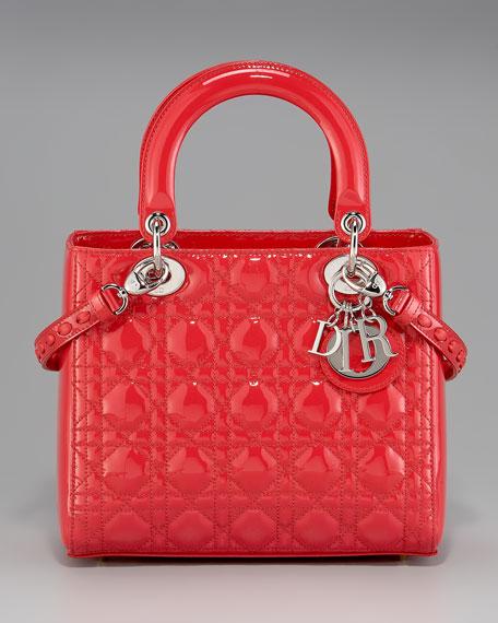 Patent Lady Dior Tote, Medium