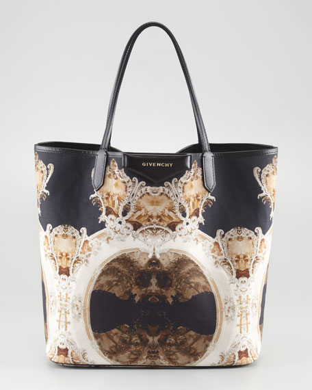 Antigona Church-Print Shopper, Medium