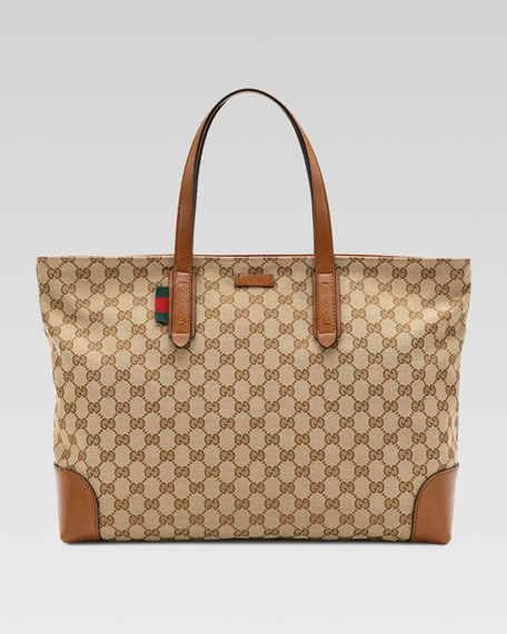 Large Original GG Canvas Tote Bag