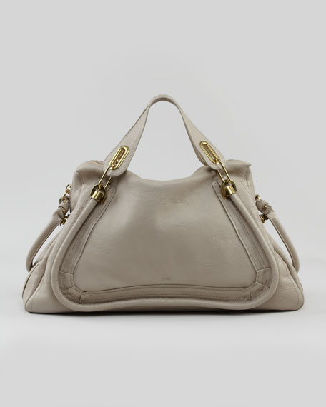 Paraty Medium Shoulder Bag, Gray