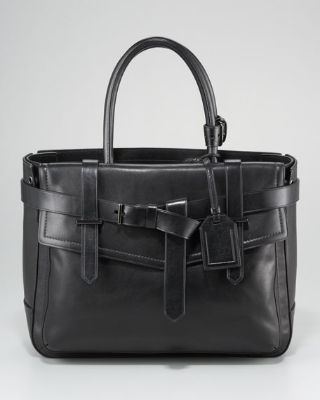 Boxer Tote Bag, Black
