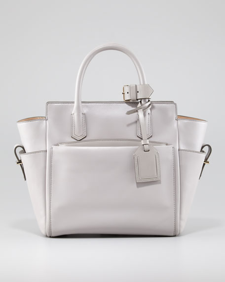 Atlantique Mini Tote Bag, Light Gray