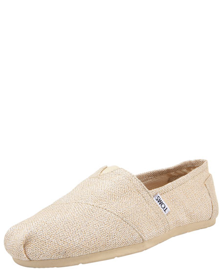 Routh Burlap Slip-On