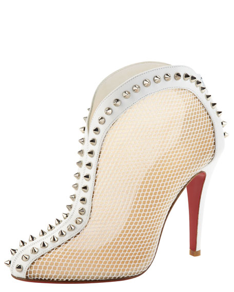 Bourriche Studded Red Sole Ankle Boot