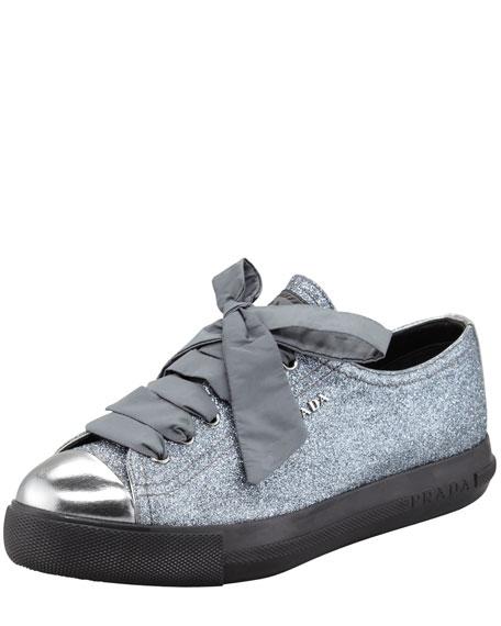Glitter Platform Sneaker