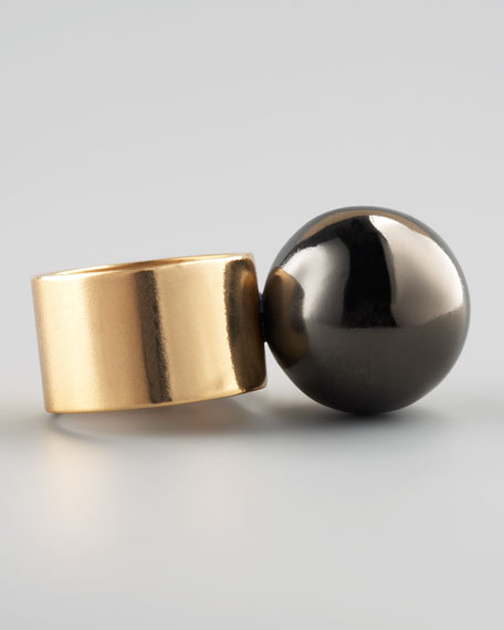 Small Sphere Ring