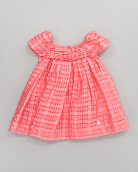 Plisse Organza Dress