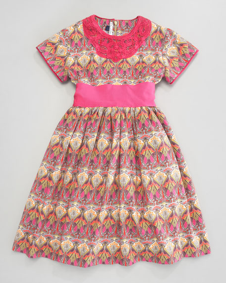 Liberty Pleated Dress