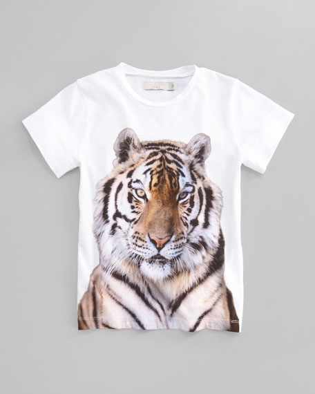Violet Tiger Graphic Tee