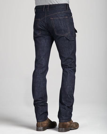 Dark Harness Jeans