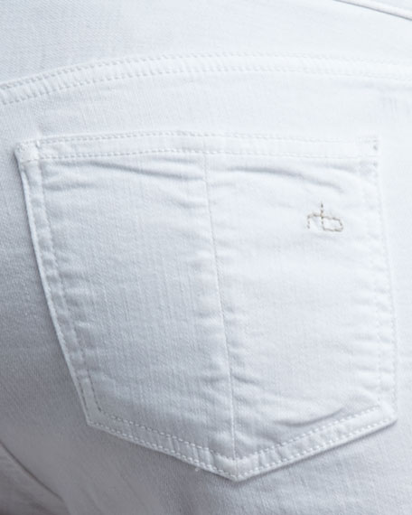 The Cuff Shorts, Bright White