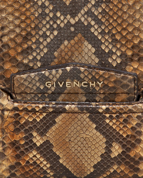 Antigona Python Envelope Clutch Bag