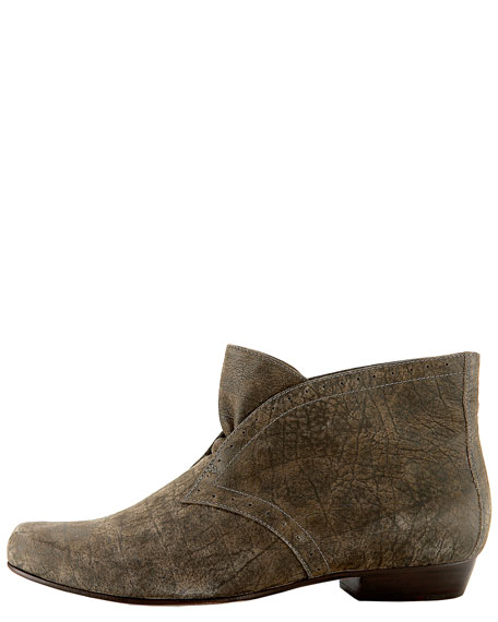 Flat Ankle Bootie