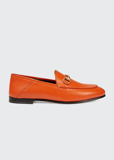 f71687802d2 Gucci Brixton Leather Horsebit Loafer