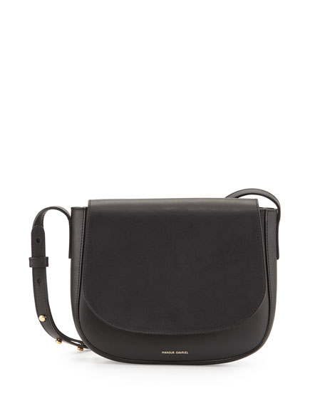 Vegetable-Tanned Leather Crossbody Bag