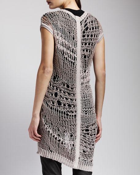 Long Crochet Tunic
