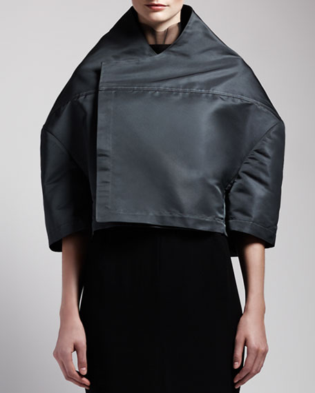 Boxy High-Collar Jacket