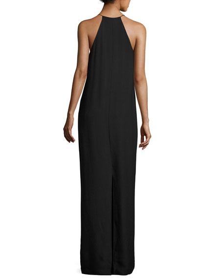 Nahel V-Neck Sleeveless Maxi Dress