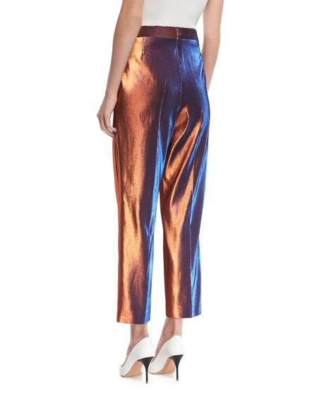 Penny Shiny Lamé Pants