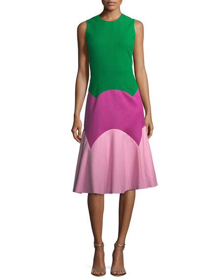 The Thornton Colorblock A-Line Dress