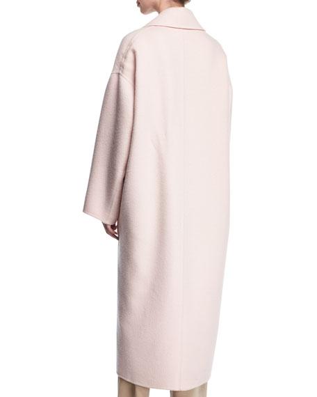 Oversized Double-Breasted Coat