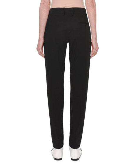 Straight-Leg Cotton Pants