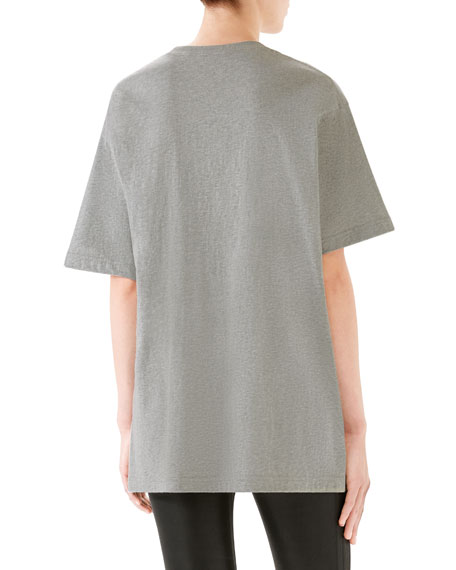 Oversize Tiger Graphic Cotton T-shirt