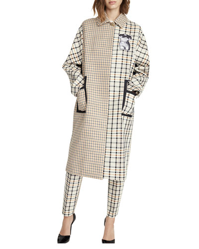 Mixed Checkered Jacket